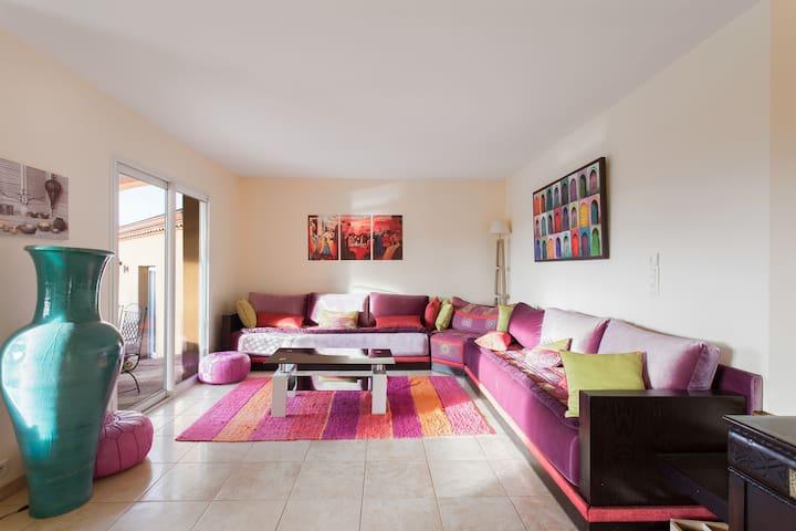 Belle maison avec piscine - Lapeyrouse-Fossat - Hus