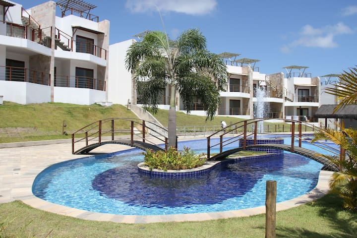 2 Bedroom Partial Ocean View Apt - Pipa - Apartmen