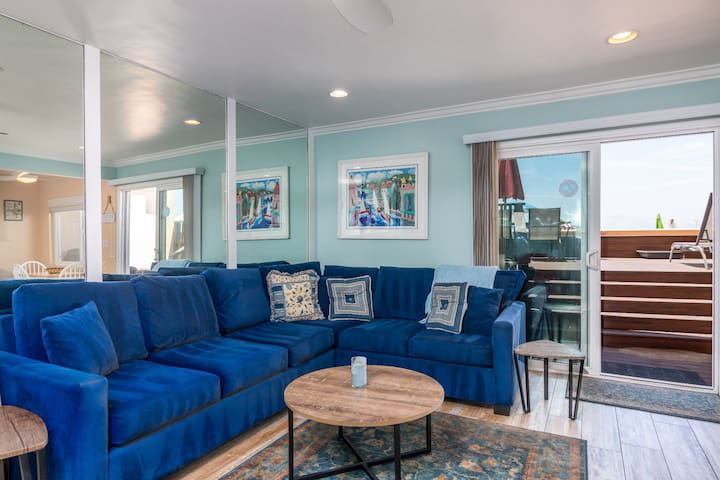 Sanitized Carp Shores 110 As Good As It Gets 2 BR Ground Floor Oceanfront