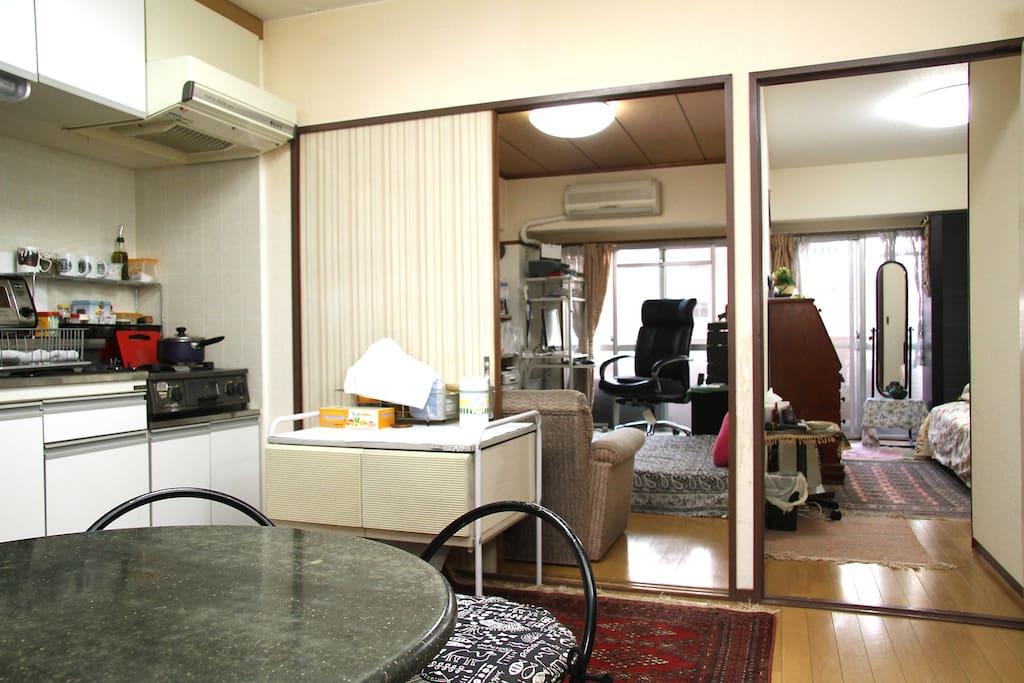 Kitchen/Dinning area (Shared)