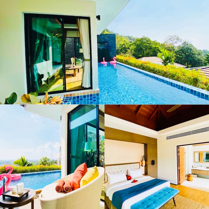 Silla Villa 8 with private pool @ Kata Beach