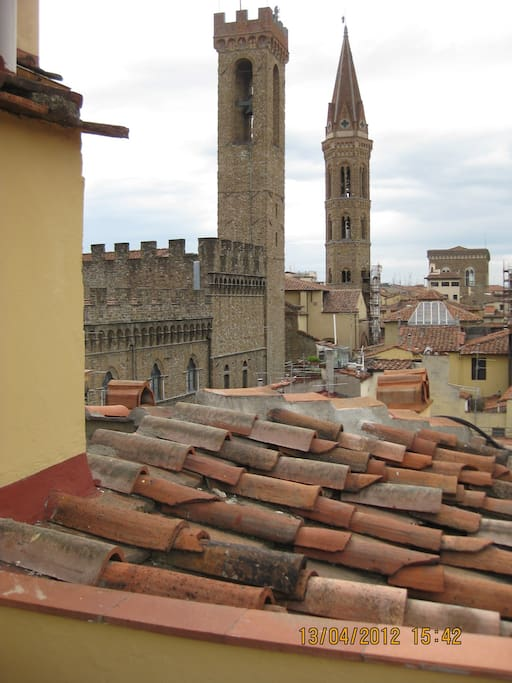 Rooftops from the terrace