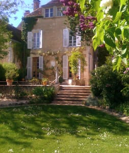 Beautiful Maison Bourgeois - 1850 - Crain - Dom