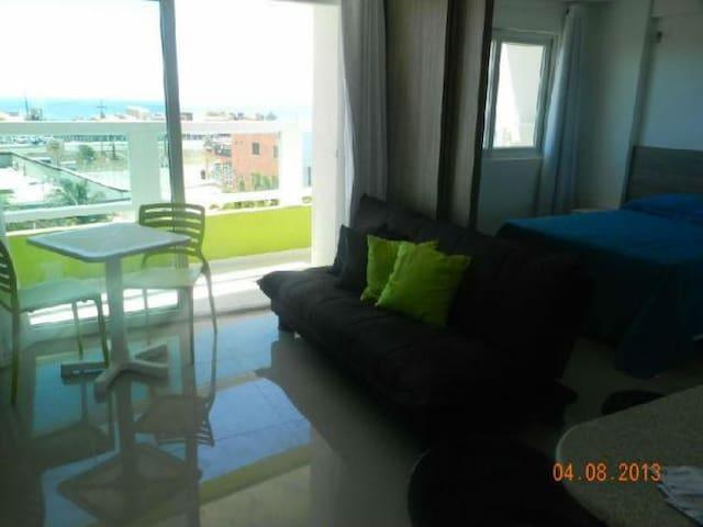 MELON FLAT Ponta Negra-Frente p/mar