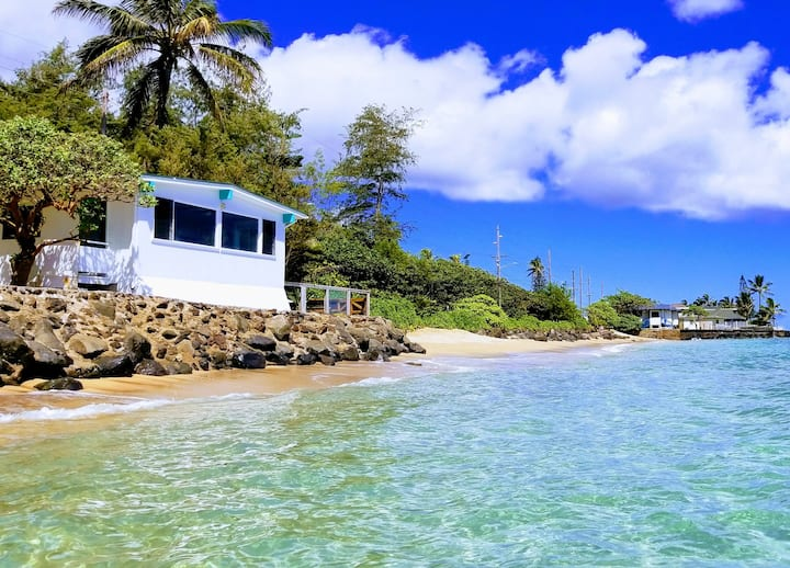 Beachfront Sunrise Home -Swim/Snorkel/Secluded 30d