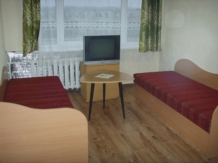 Cheap simple and cozy private room in Siauliai