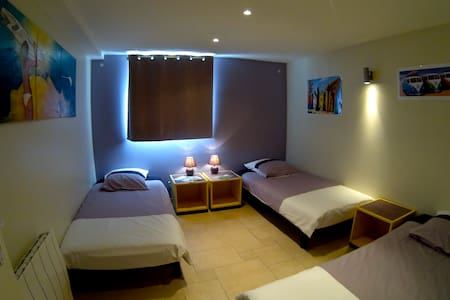 Sunset House - Chambre 3 pers. - Seignosse