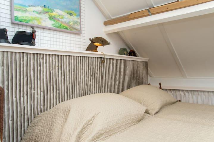 Spacious sunny attic, 35 m2 - Nootdorp - Bed & Breakfast