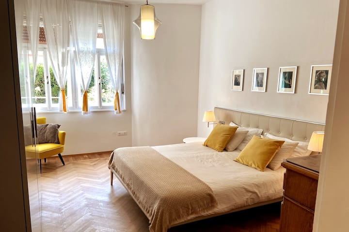 apartment, recently renovated, 10 min. from center