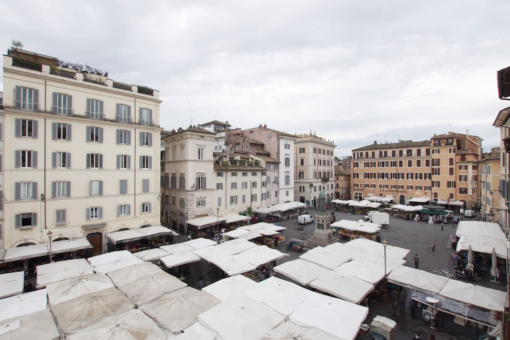 Incredible Views of Campo de Fiori