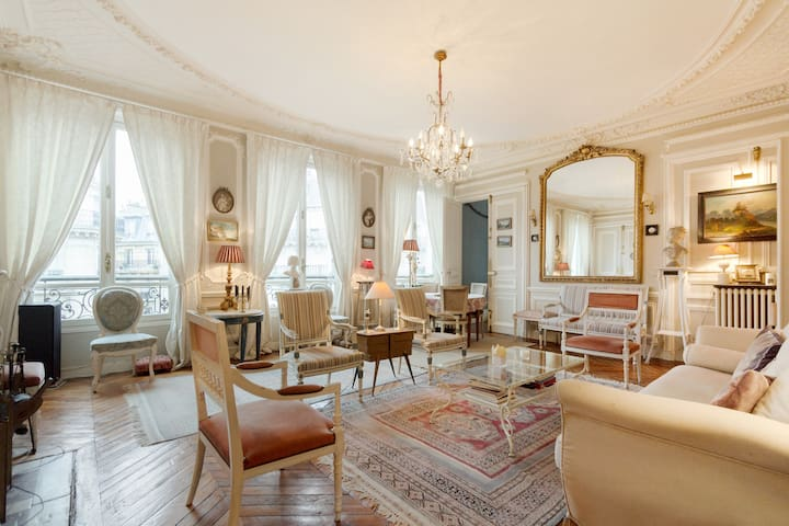 Gorgeous 4 bdr apt in central Paris - Paris - Apartmen
