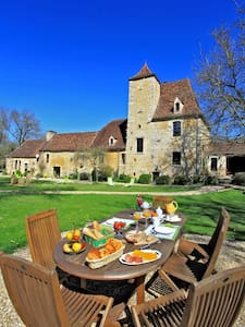 CHAMBRE HOTE PISCINE INT.MANOIR XVIeme 65€ PDJ inc - Le Vigan - Bed & Breakfast