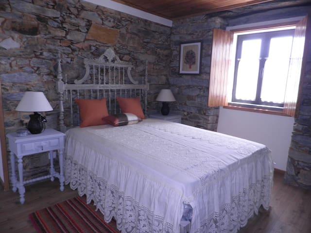 Quinta da Eira - Casa de Xisto - Quarto duplo