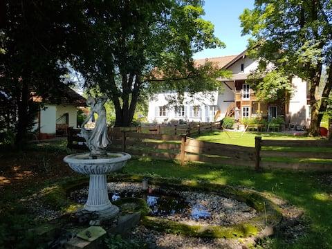 Villa Reizenstein - 3 Zimmer-Whg (6 Erw.+3 Kinder)