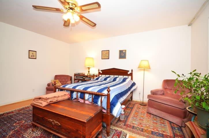 Restful Room #1 in Asheville, NC - Asheville - Bed & Breakfast