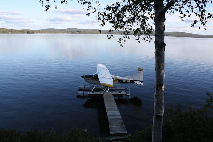 Magnifique bord de lac!!! - Nominingue - Casa