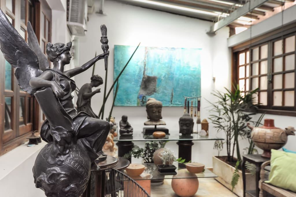 Thematic Art Balcony