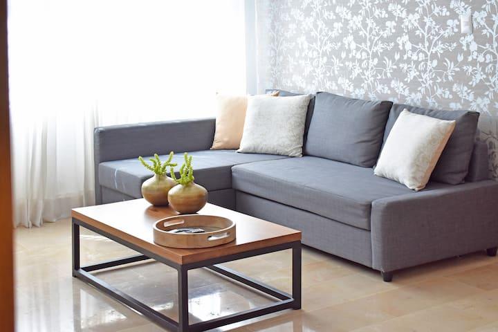 Sala del apartamento (sofa cama)