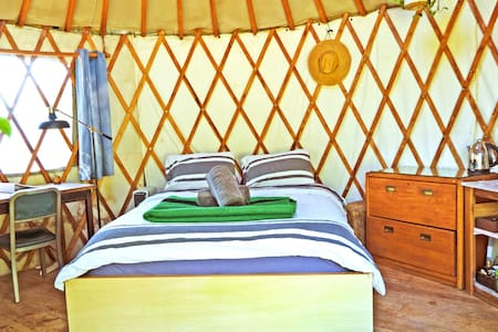 The NELA Yurt - Mt. Washington