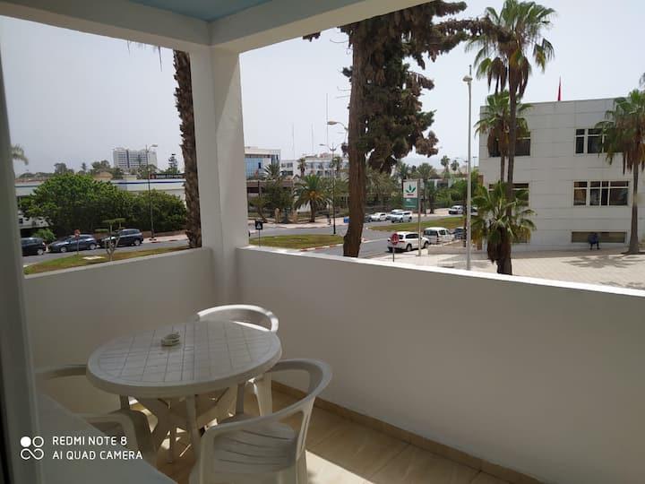 Chambre privée a 5 mn de la plage d'agadir