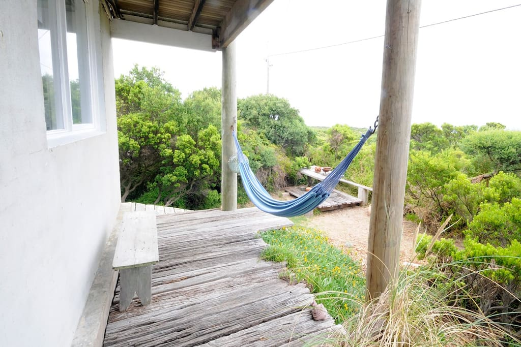 Hammock with dune and ocean views
