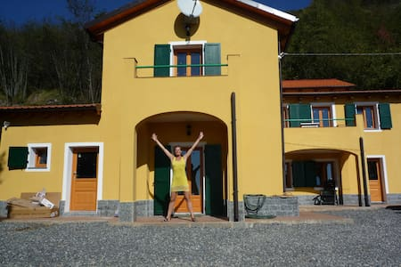 beautiful house overseeing Liguria - Castelvecchio di Rocca Barbena