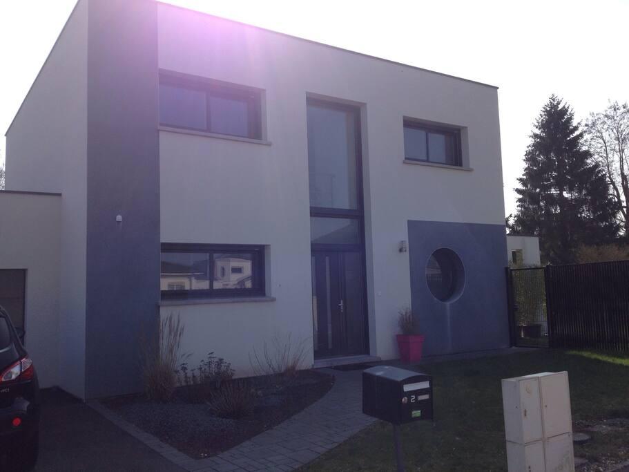 Maison moderne aux portes de nancy case in affitto a for Maison moderne nancy