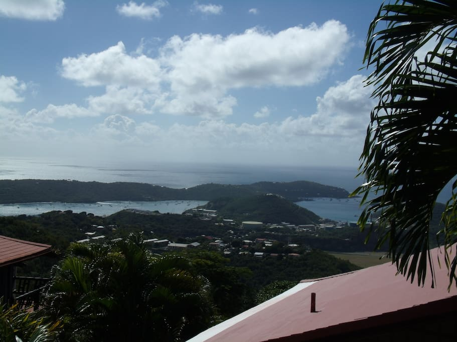 The view from the Shibumi suite neighborhood.