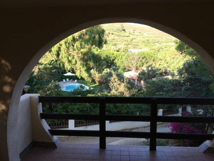 Salvia: appartamento in Villetta con giardino