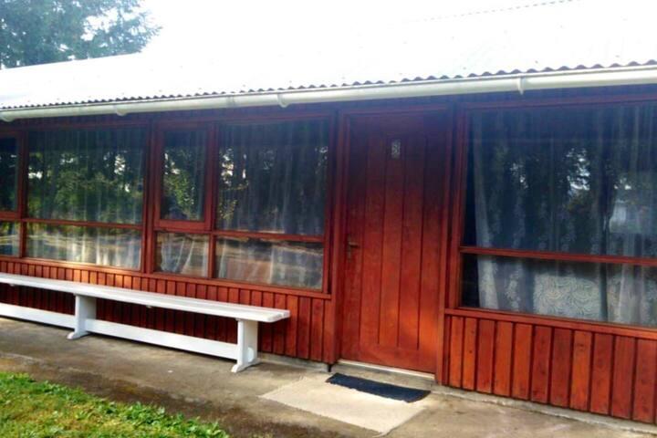 Amplia cabaña para 9 personas, Villarrica.