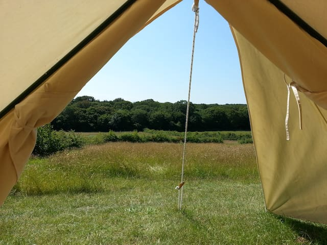 BleanBees Eco Glamping - Canvas Bell Tent