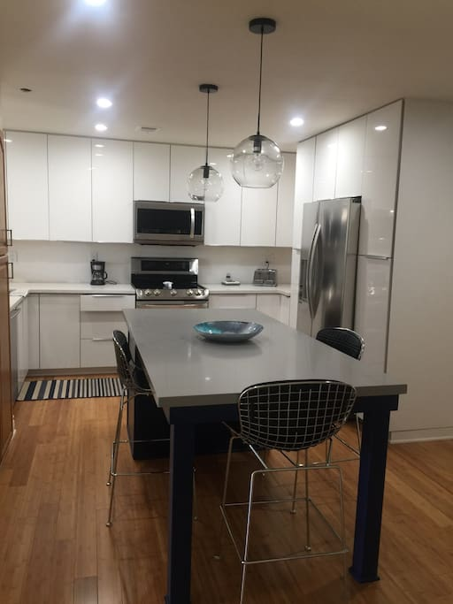 Kitchen is all new everything!