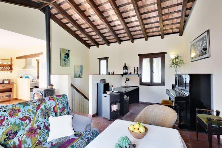 Casa de la loba,  a house built in  - Jimena de la Frontera