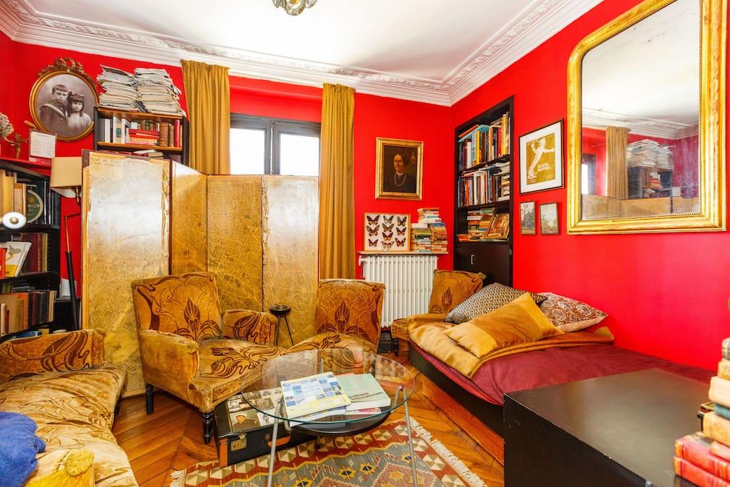 Stylish room in paris 9 pigalle appartements louer - Interieur appartement original et ultra moderne a paris ...