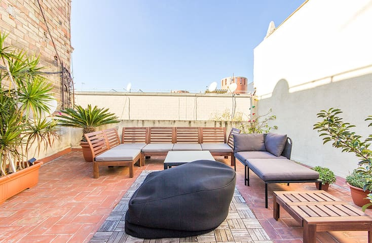 Central 45m2 Loft Apartment w/45m2 Private Terrace