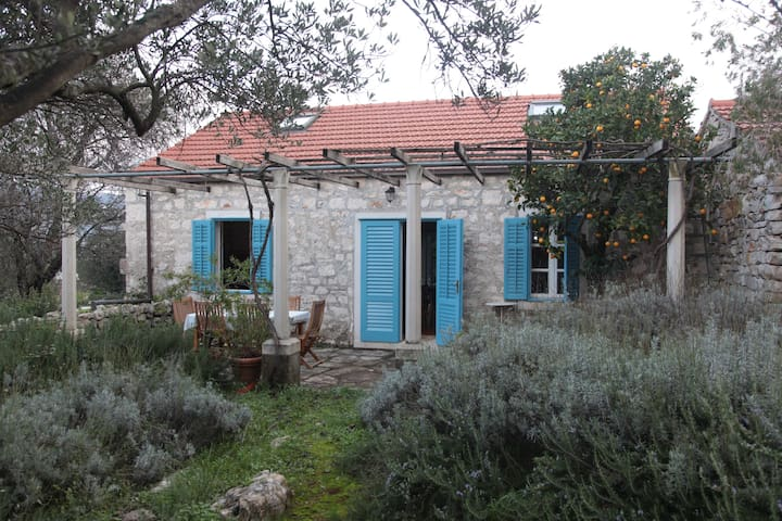 Beautiful Stone House with Garden - Kneža - Huis