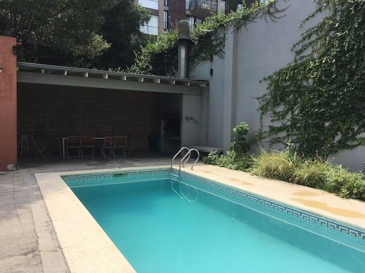 New studio w/ swimming pool near Palermo