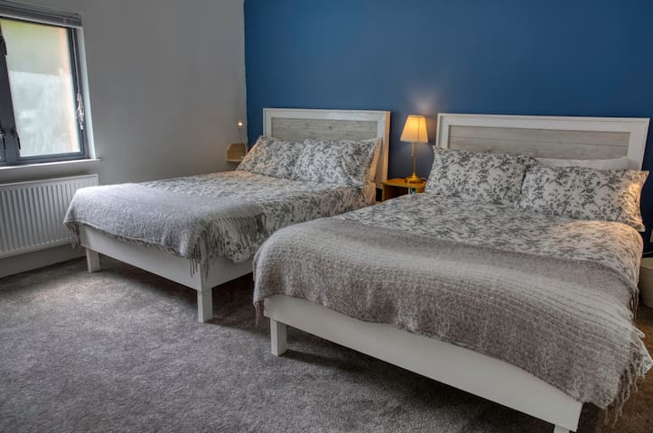 Bedroom, two double beds