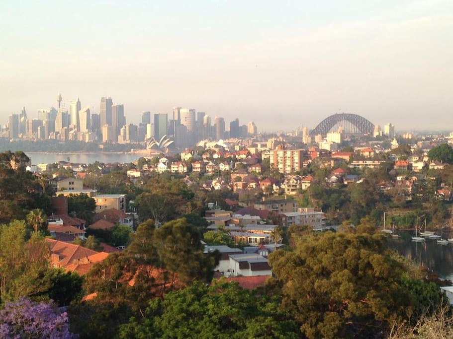 All-in-one Sydney Tower, Harbour Bridge & Opera House View from Balcony!