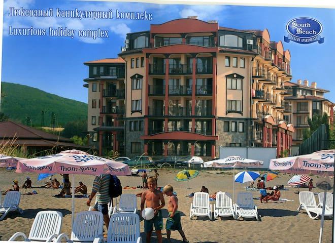 Квартира у моря с одной спальней - Tsarevo - Apartment