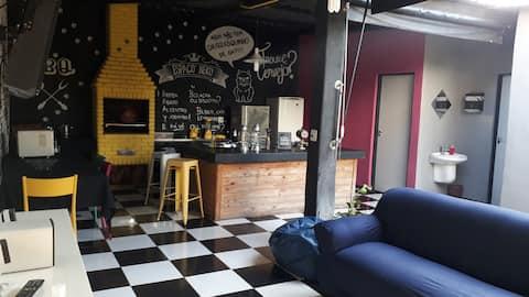 Delicioso espaço gourmet na Casa Verde