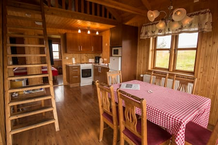 Warm and cosy 6 person cottage in Varmahlid - Hestasport Cottages