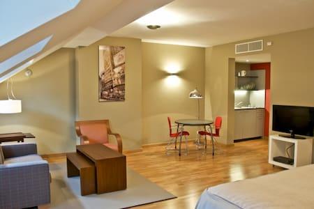 Magnific studio-flat in EU District - Bruselas