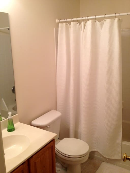 The Bathroom - Yours, no one else will be sharing it.