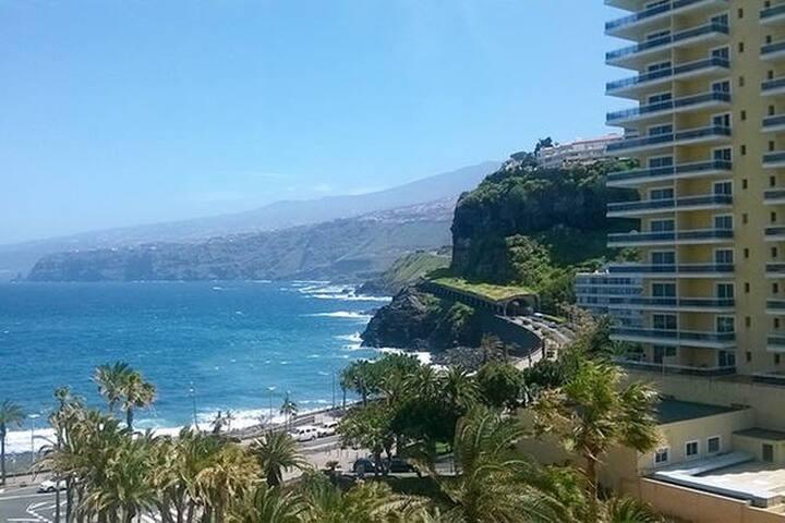 Studio overlooking the sea