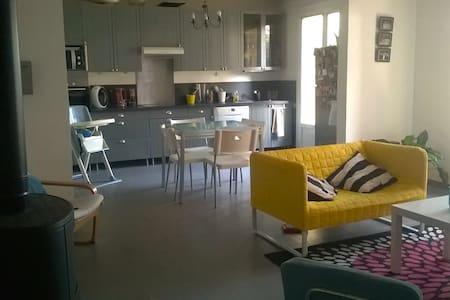 Maison 3 chbres - JARDIN - idéal familles, groupes - Septèmes-les-Vallons - บ้าน