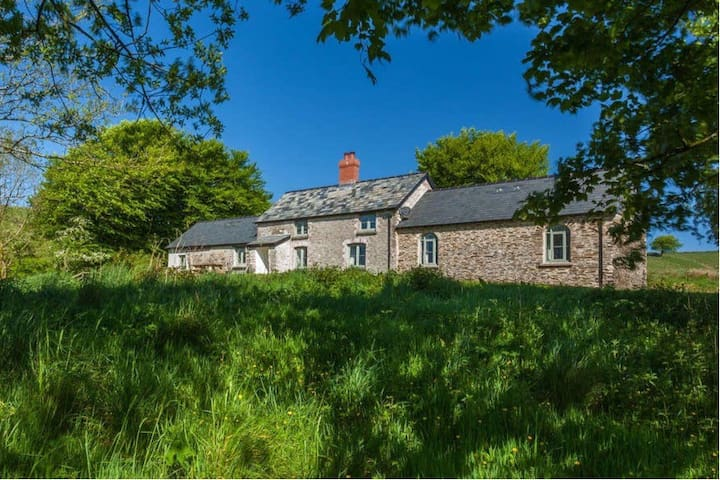 Limecombe - the highest holiday cottage on Exmoor