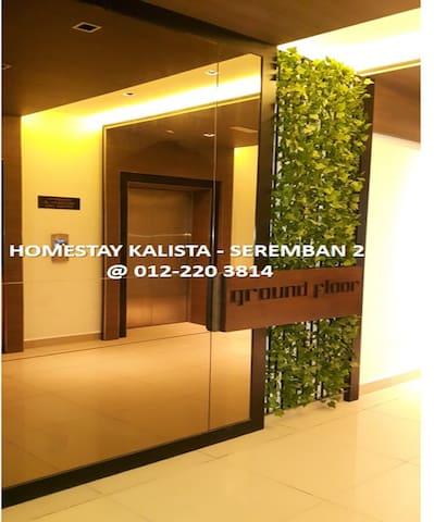Homestay @ Kalista Apartment Seremban 2 - Seremban - Huis