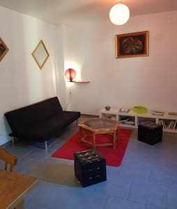 appart dans un hameau privée calme avec picsine - Clermont-l'Hérault - Apartmen