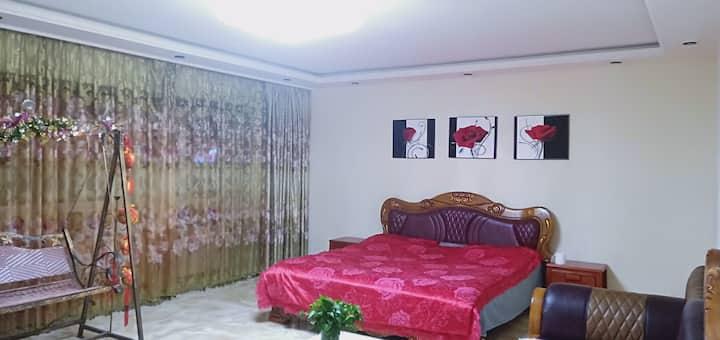 百货大楼豪华韩式玉石可调温大床两居房